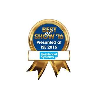 Savant Remote wins 'Residential Systems 2016 ISE Best of Show Award'